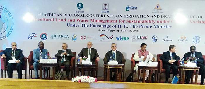 4th African Regional conferences on Irrigation and Drainage (ARCID), 26-28 April 2016, Aswan, Egypt