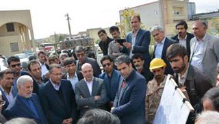 بازدید از پروژه آبرسانی به شهر زابل و شهرهای مسیر