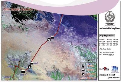 آزمايشات ژئوتکنيک تاسيسات پمپاژ آب از رودخانه آمودريا به منطقه اندخوی افغانستان