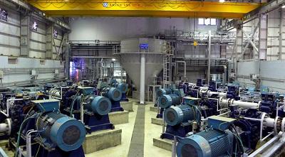 طرح تأمین آب و تأسیسات پمپاژ، انتقال و دفع باطله معدن مس سونگون (فاز I)